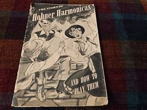 Hohner harmonicas rare music story book