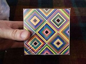 RUBIX  Brain Teaser Speed magnetic blocks magic 3D Cube Puzzle Toy