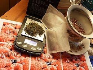 10 gr loose leaf Organic Rasberry flavored Hemp seed Tea