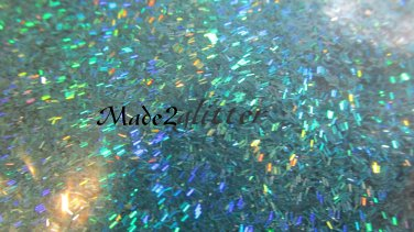 Holographic Teal Tinsel