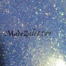 Iridescent periwinkle glitter (gold )