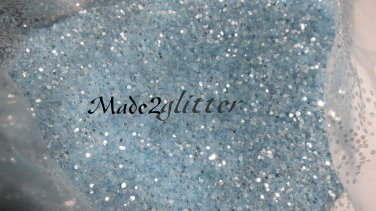 Light blue Glitter