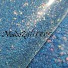 Blue glitter dots