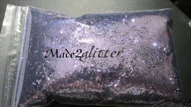 Lavender Hexagon glitter