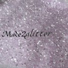 Pastel Purple silver shining hexagon glitter