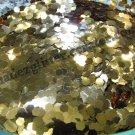 Gold sand hexagon glitter