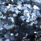 Lake blue hexagon glitter
