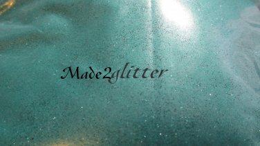 Green extra fine matte glitter
