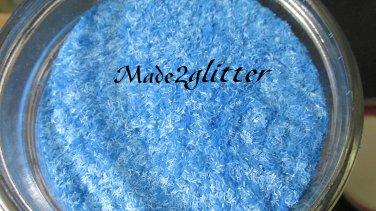 Neon Blue tinsel strips