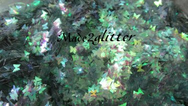 Green Iridescent butterflies