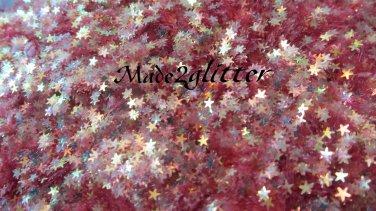 Micro strawberry red stars