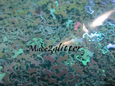 Blue scottish terrier glitter shapes
