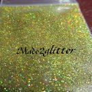 Yellow topaz holographic glitter