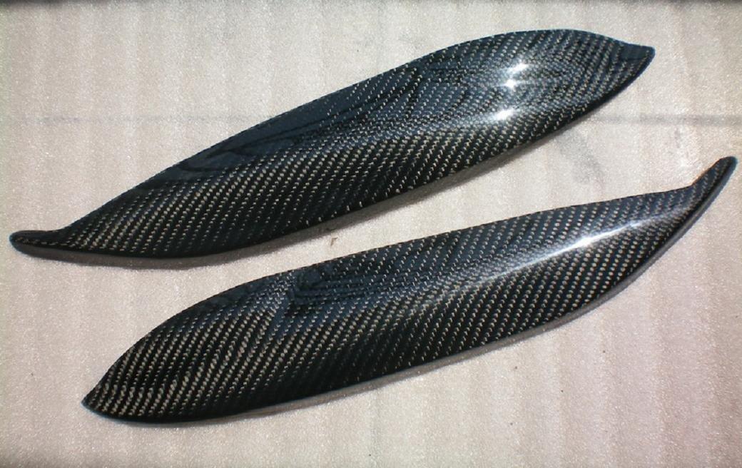 Carbon Fiber Headlight Eyelids For Honda Civic EK 1996-1998