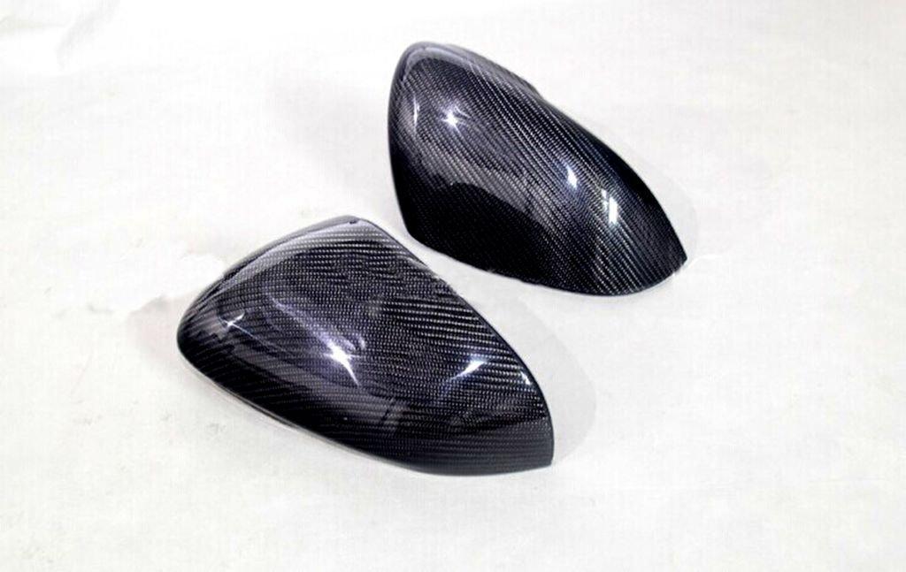 Carbon Fiber Mirror Covers For Jaguar XF 2012 2013 2014