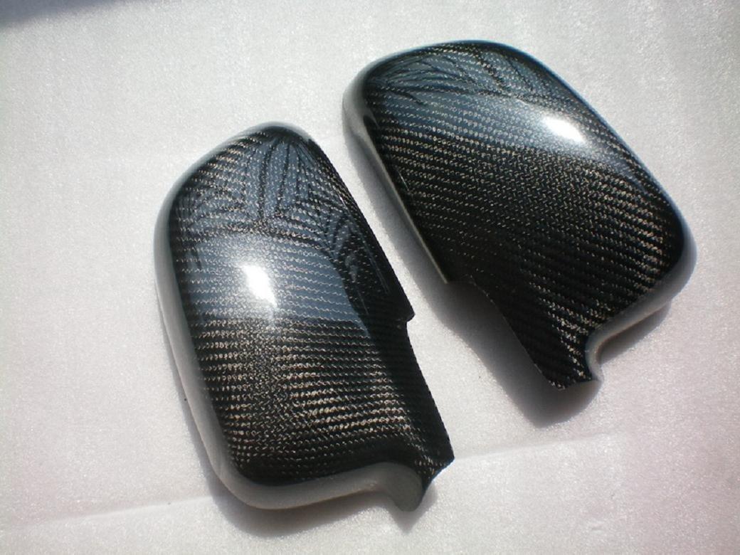 Carbon Fiber Mirror Covers For Mitsubishi Lancer Evolution EVO 4 5 6 EVO4 EVO5 EVO6 1996-2000