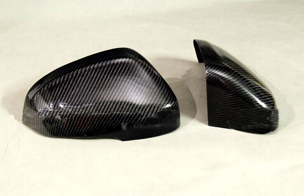 For Volvo V60 2010-2014 Carbon Fiber Mirror Covers Replacement