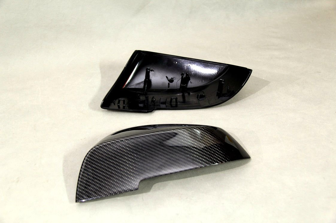 Carbon Fiber Mirror Covers Replacement For BMW 5 Series Gran Turismo LCI 2013 2014 535i 550i