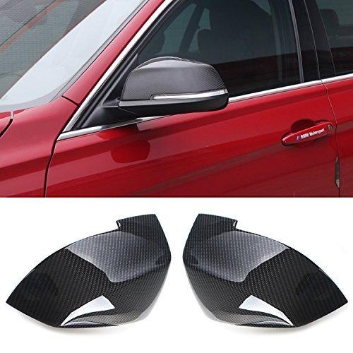 Carbon Fiber Side Mirror Caps Covers Set for BMW F20 1 Series 116i 118i 120i F30 F31