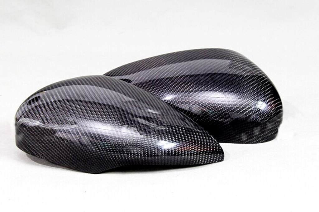 Carbon Fiber Mirror Covers For Ford Fiesta 2009-2014