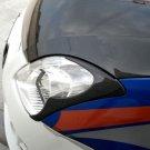 Carbon Fiber Headlight Eyelids For Suzuki Swift 2005-2009