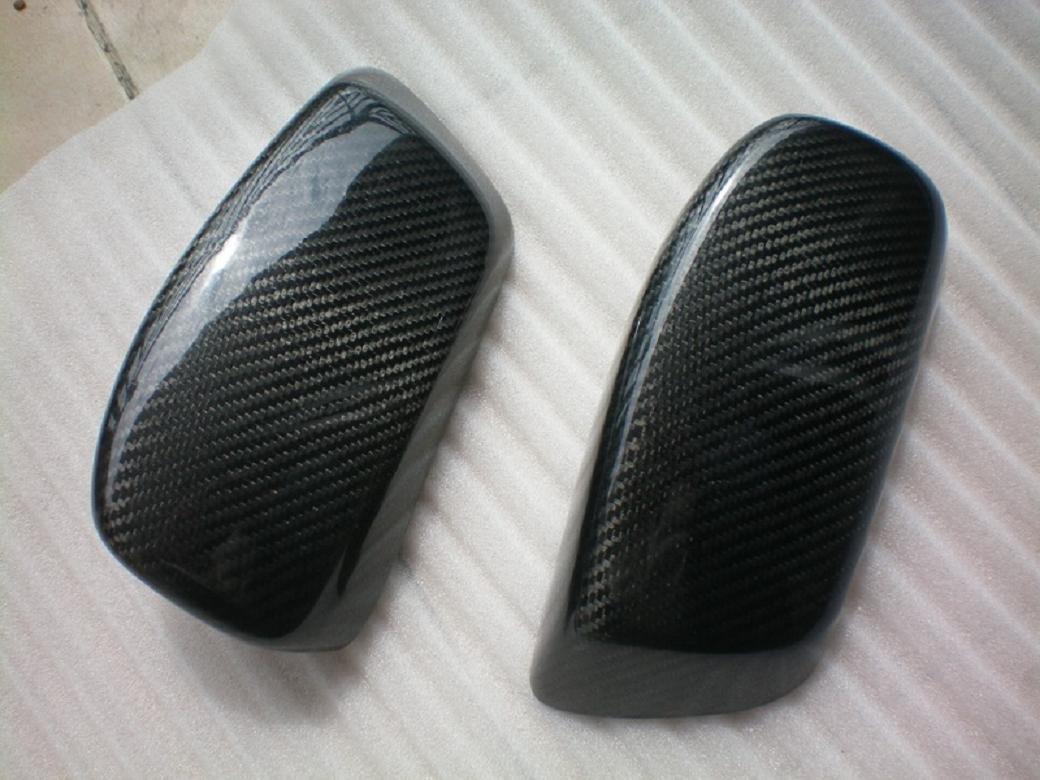 Carbon Fiber Mirror Covers For BMW 5 Series E61 2003-2008 520i 523i 525i 528i 530i 535i 540i 545i 55