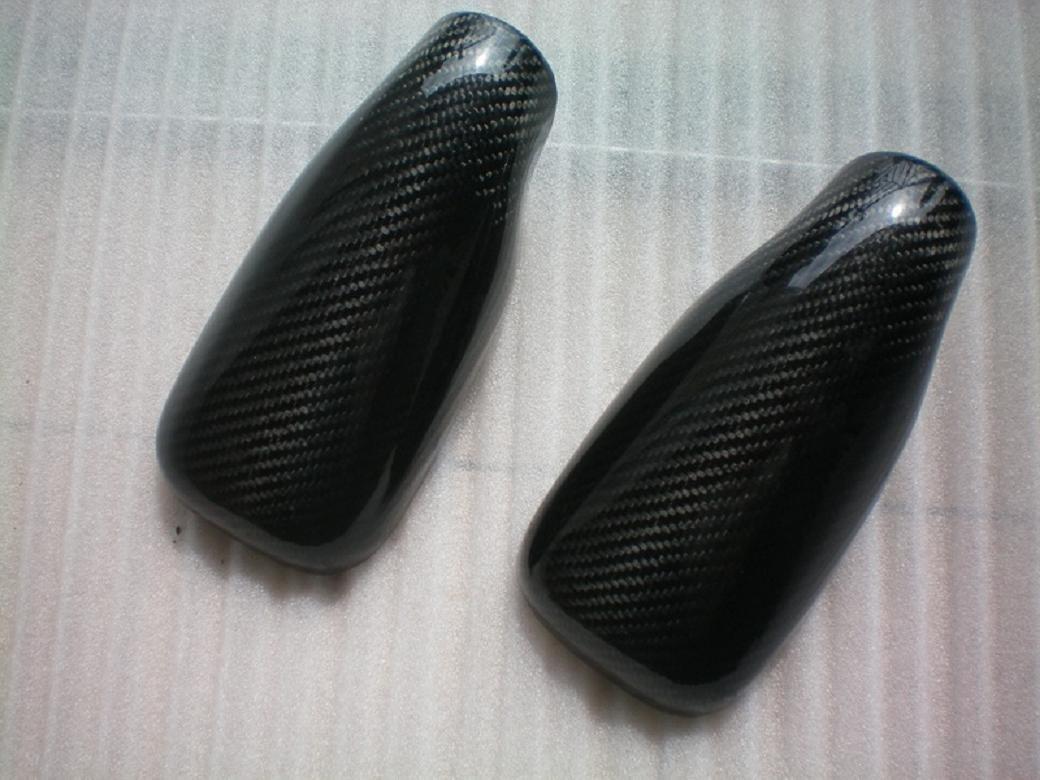 Carbon Fiber Mirror Covers For Tesla Motors Roadster 2007-2012