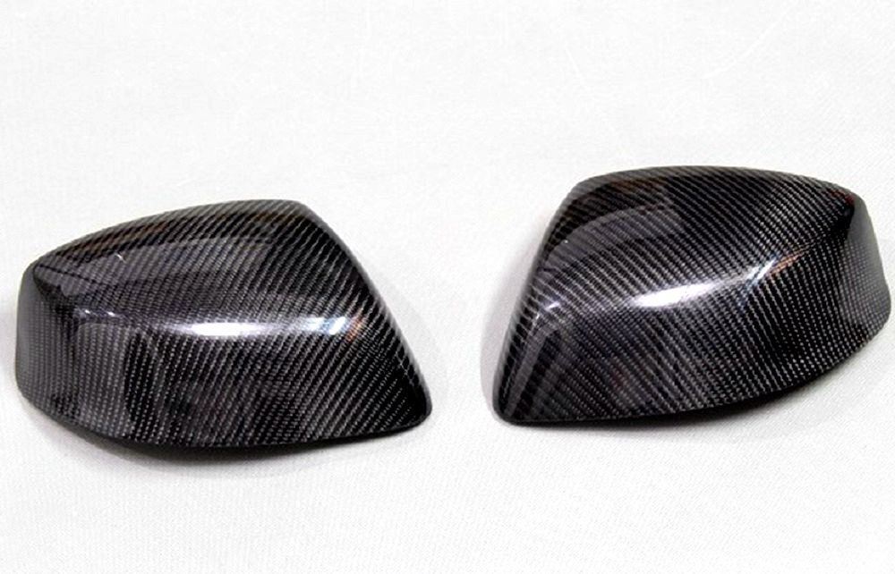 Carbon Fiber Mirror Covers For Honda Civic Coupe 2012-2014 No LED