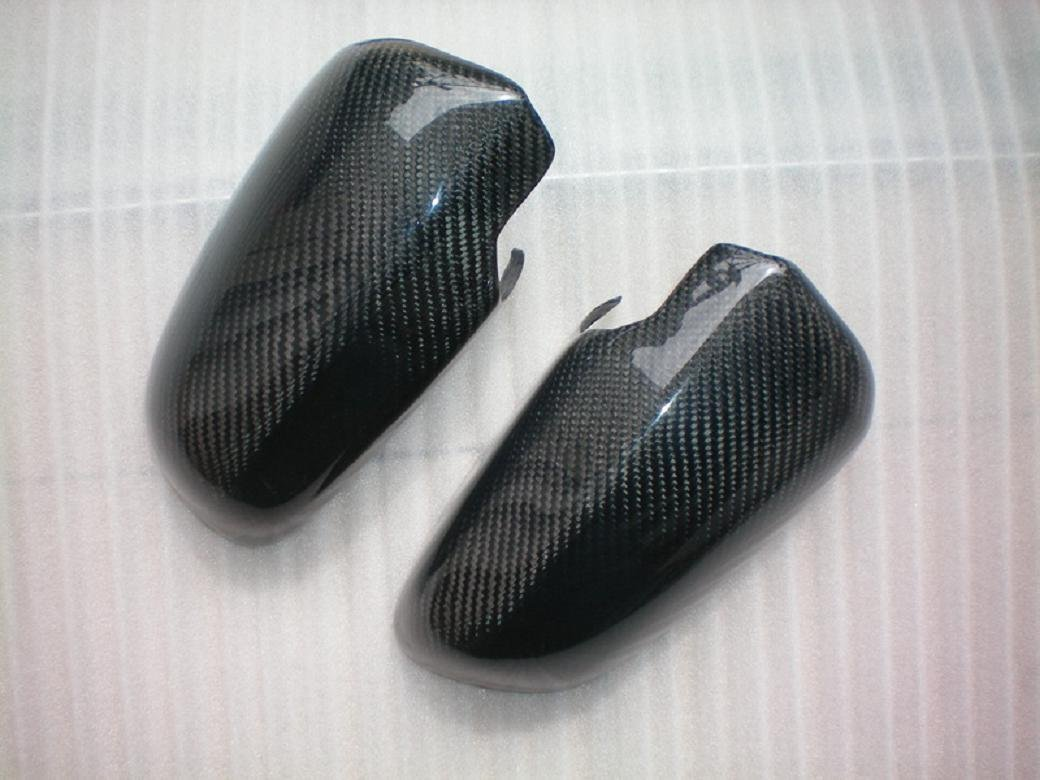 Carbon Fiber Mirror Covers For Audi RS4 Cabriolet 2006-2009