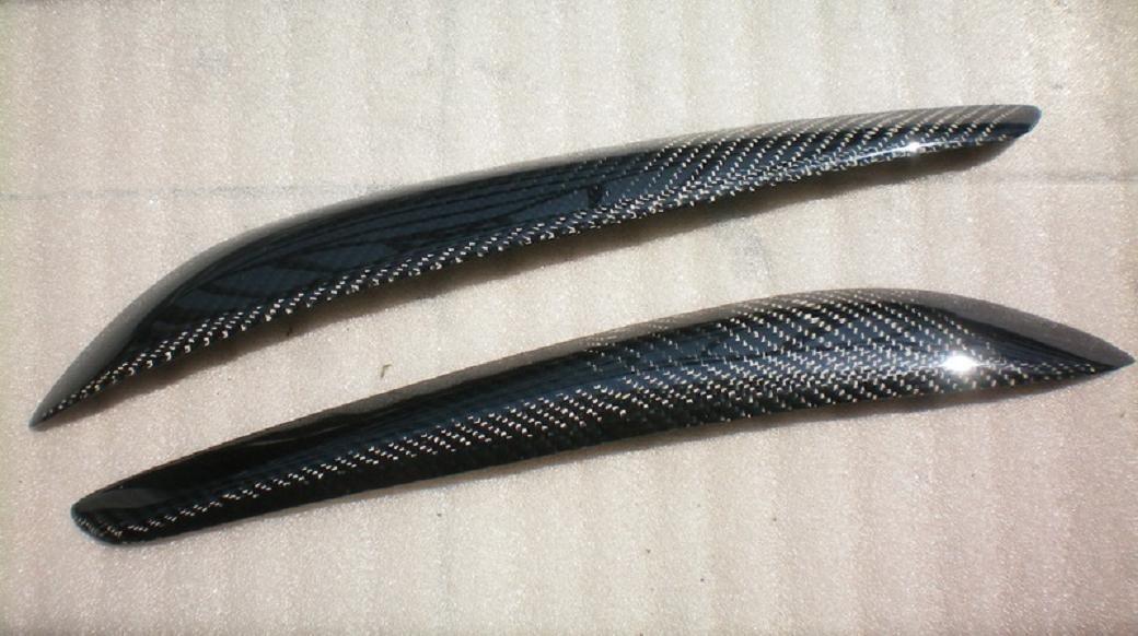 Carbon Fiber Headlight Eyelids For Nissan R34 GT-R GTR 1999-2002