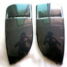 Carbon Fiber Front Fog Light Covers For Subaru Impreza WRX 2004 2005