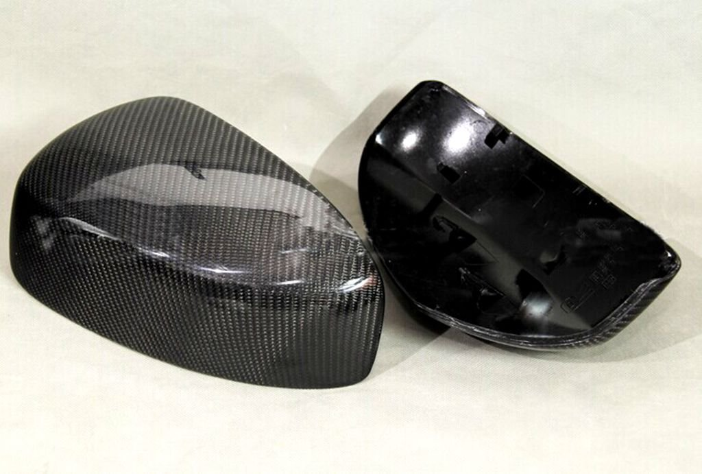 Carbon Fiber Mirror Covers Replacement For Infiniti G37 Convertible 2009-2013