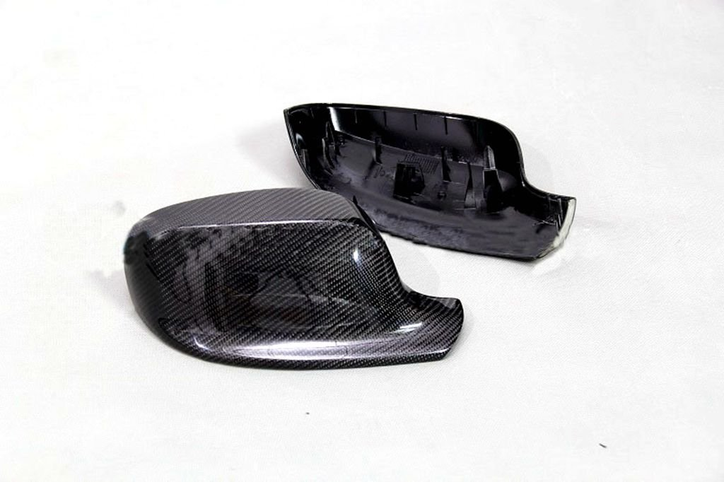 Carbon Fiber Mirror Covers Replacement For BMW X1 E84 2009-2012