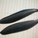 Carbon Fiber Headlight Eyelids For Honda Civic EK 1999-2000