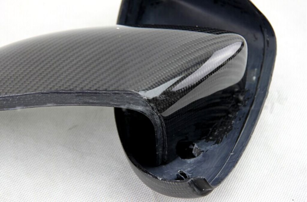 Carbon Fiber Mirror Covers Replacement For VW Jetta 2011-2014