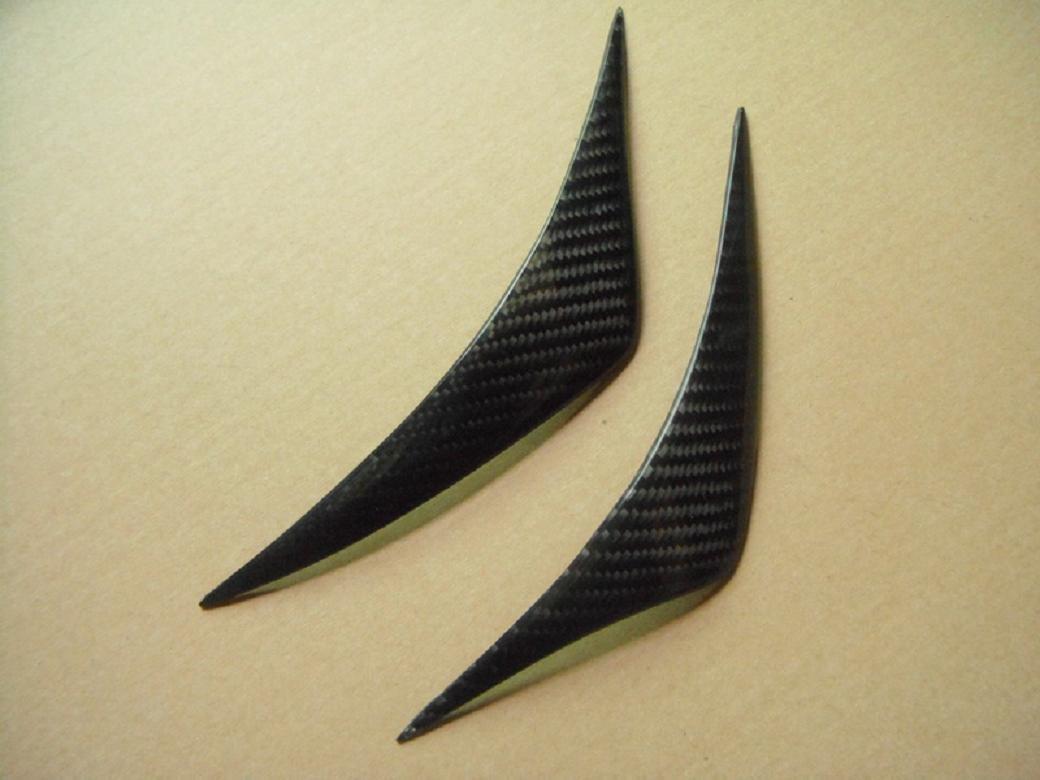 Carbon Fiber Headlight Eyelids For Hyundai Genesis Coupe 2008-2014 B-Style