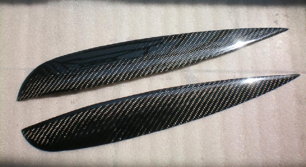 Carbon Fiber Headlight Eyelids For Acura RSX DC5 2002-2005