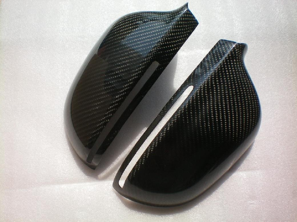For Audi A8 D3f 2005-2009 Carbon Fiber Mirror Covers