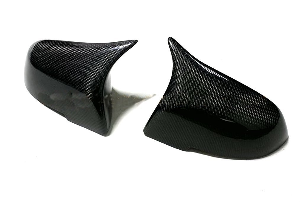 For BMW I3 2013-2015 Carbon Fiber Mirror Covers (Update to M3 Style)