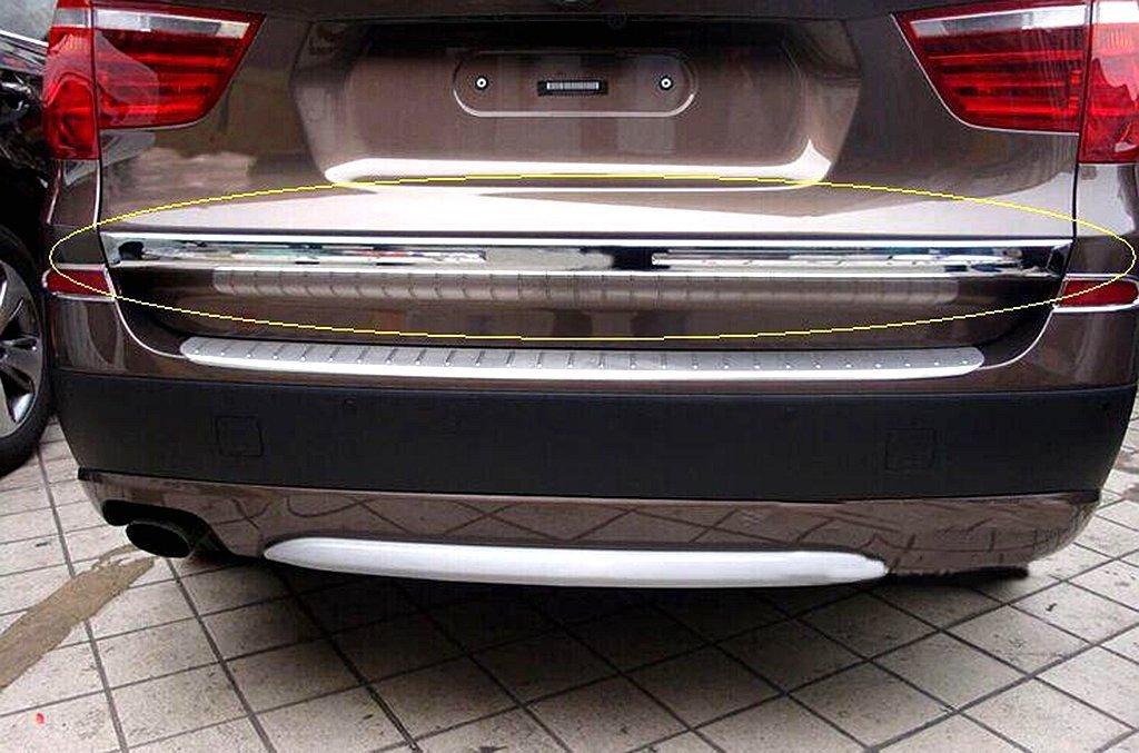 Chrome ABS Rear Trunk Decorative Trim for BMW X3 F25 2010-2013