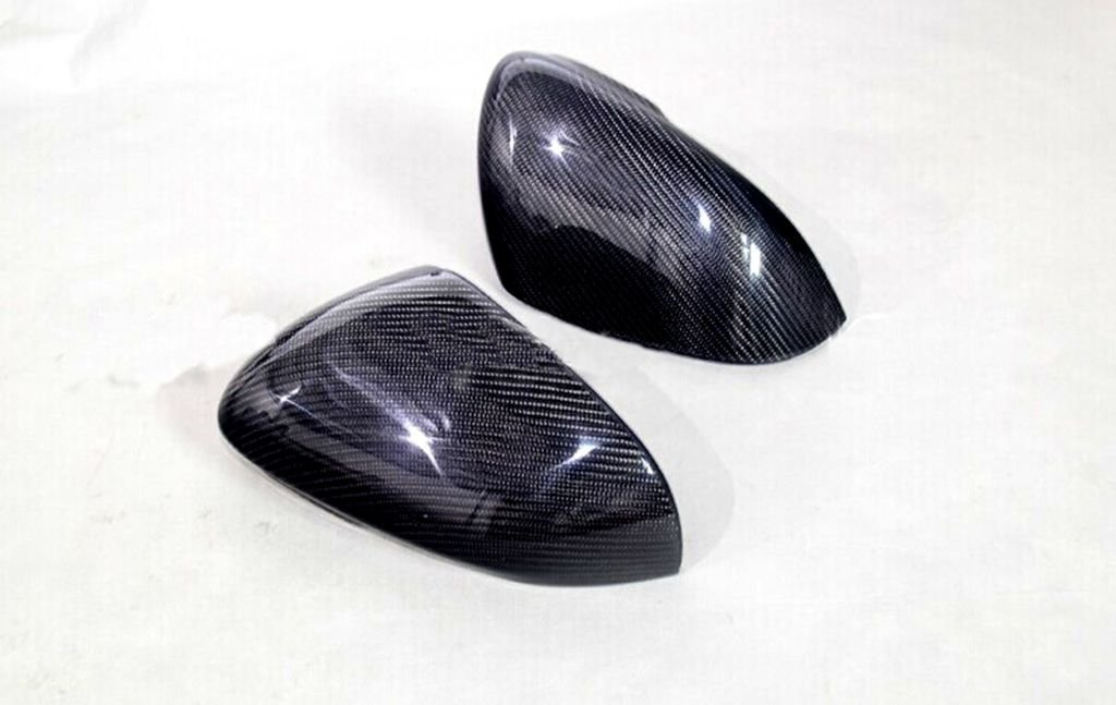 Carbon Fiber Mirror Covers For Jaguar XKR-S Convertible 2011-2014