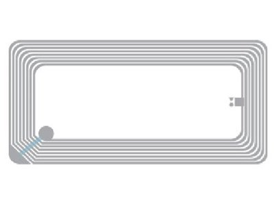 HF Inlays RFID Tickets Tag
