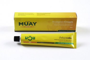 3x100g Namman Muay Thai Boxing Cream Analgesic Balm Massage Muscular Pain Relief