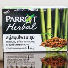 Parrot Herbal Soap Moringa mixed Bam Cole worship and cloves 100g.