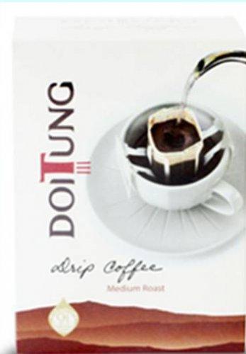 Doitung Drip Coffee Medium Roast Premium from Thailand. (6 Packs/1 Box)