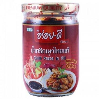 Aroy-D Chilli Paste in Oil 260 g