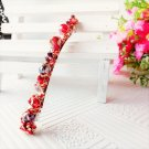 Beautiful Stylish Red Fashion Retro Crystal Rhinestone Barrette Hairpin Hair Clip