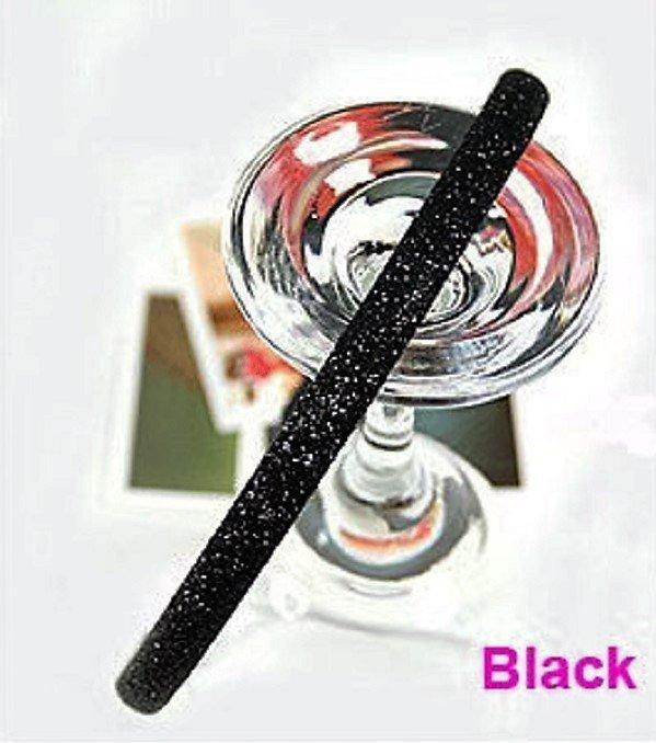 Hot fashion Retro Black Shimmering Shining Glitter Flashy Hair Headband