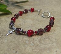 "Prayer Bracelet Special Edition (Proverbs 31) ""The Virtuous Woman"""
