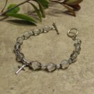 Prayer Bracelet Standard Sterling Silver (Clear)